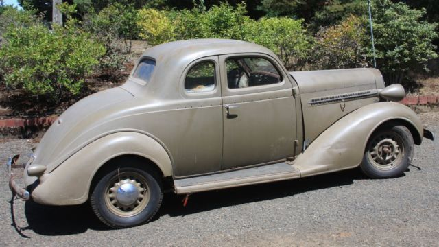 Original 1936 dodge coupe, hot rod, street rod, custom, lowrider, restoration for sale: photos, technical specifications, description