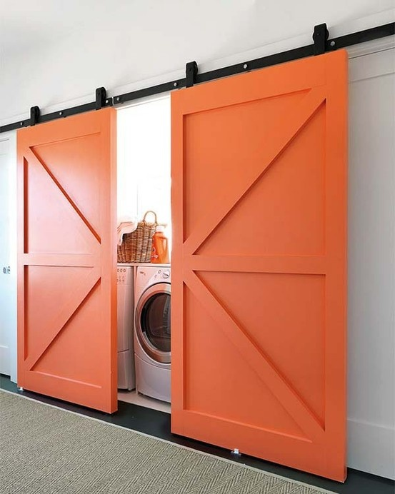 Double doors. Would look great with a Union Jack paintjob.