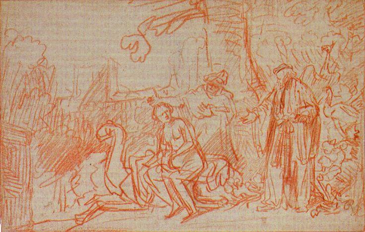 Rembrandt Susanna Zeichnung - Zuzanna i starcy (obraz Rembrandta) – Wikipedia, wolna encyklopedia
