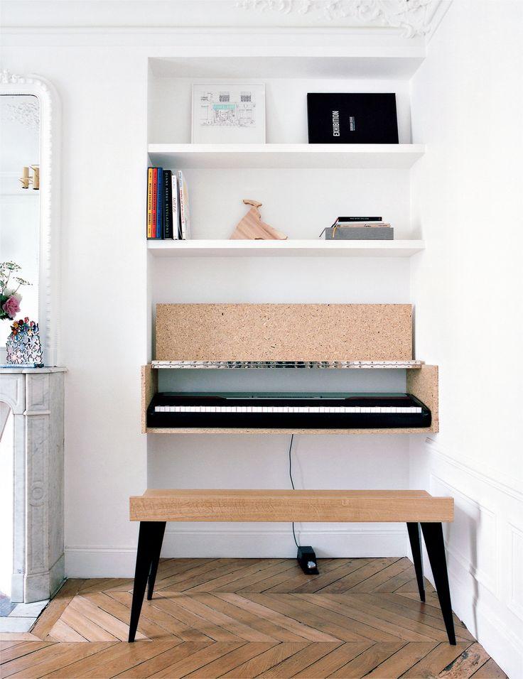 Archi : Aggloméré sur www.milkdecoration.com a place where we can place our keyboard!!!