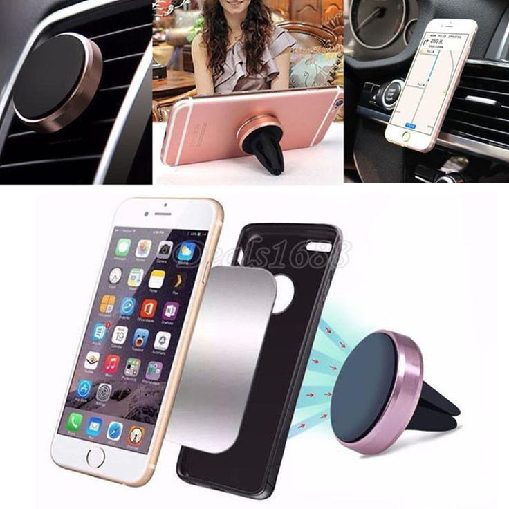 360° Car Magnetic Air Vent Mount Holder Stand For Mobile Cell Phone iPhone GPS #UnbrandedGeneric