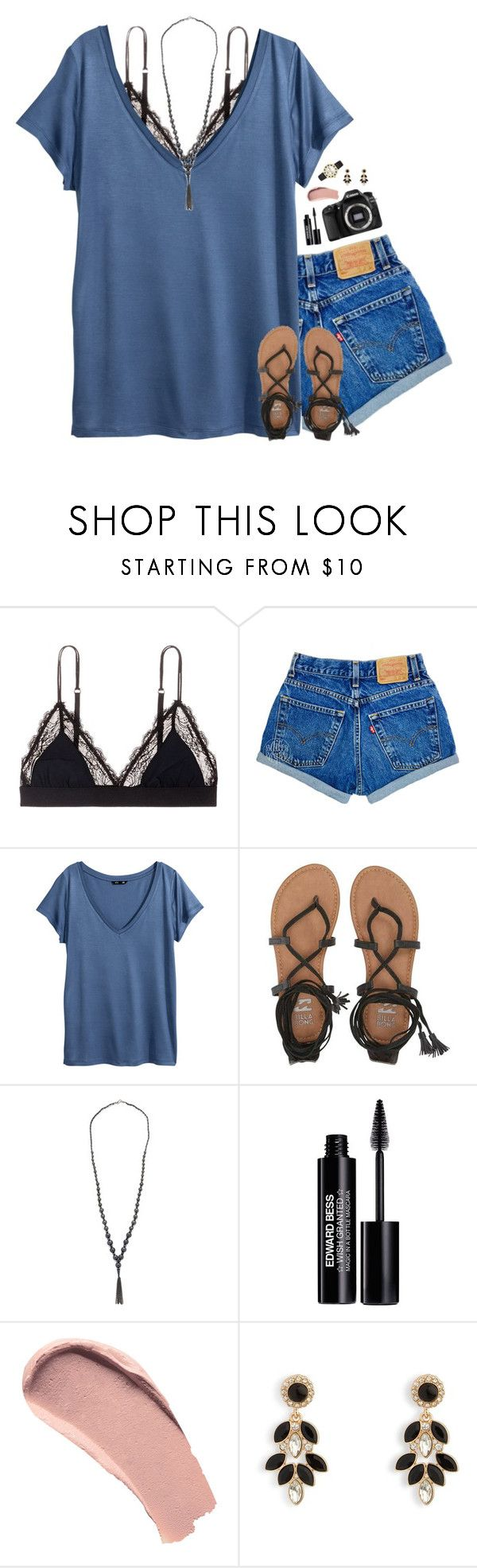 """""""just stay a minute"""" by pineapple5415 ❤ liked on Polyvore featuring LoveStories, H&M, Eos, Billabong, Chan Luu, Edward Bess, Burberry, Vera Bradley and Kate Spade"""