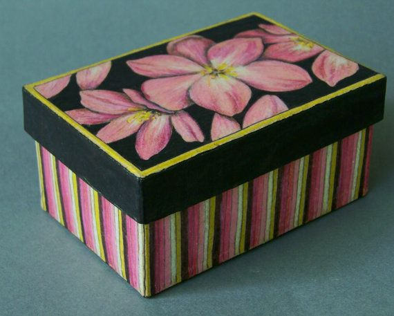 Decorative Boxes for Scavenger Hunt  Hand por DixonArtsCrafts