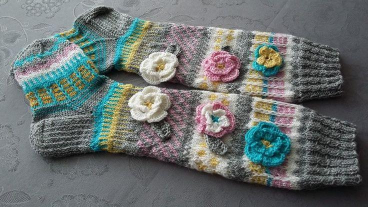 Anelmaiset flower socks