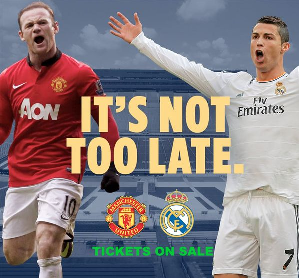 Manchester United vs Real Madrid on August 2 TICKETS INFO | Soccer with Chris