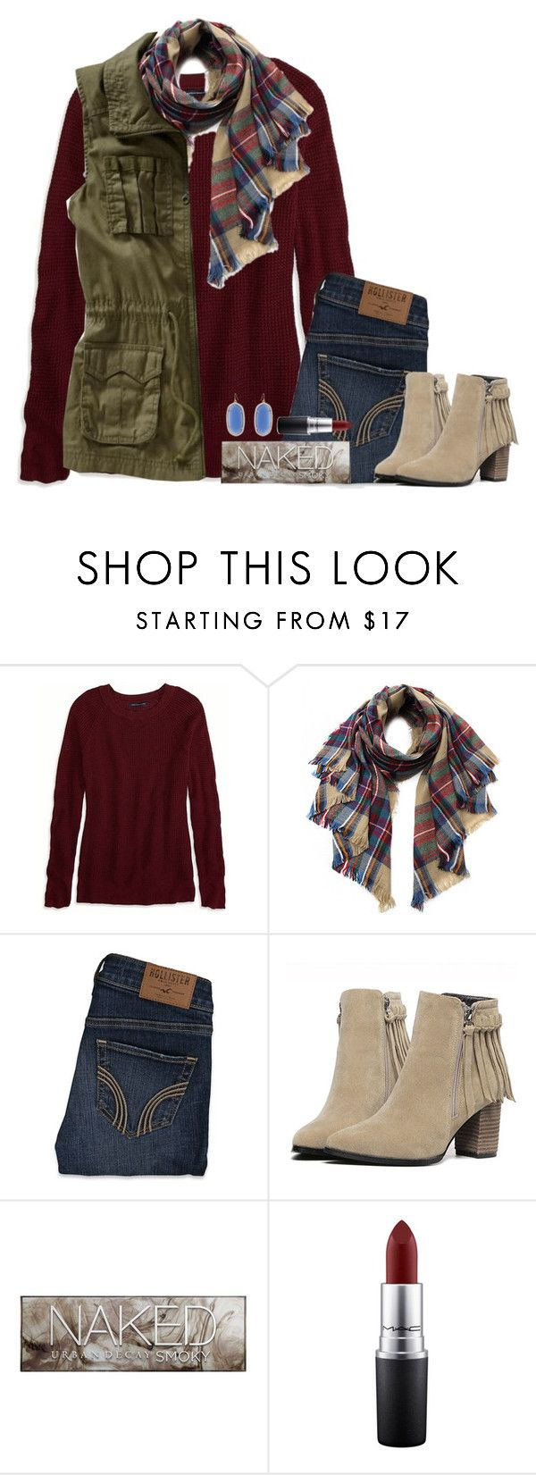 """""""I don't love you anymore."""" by bloom17 ❤ liked on Polyvore featuring American Eagle Outfitters, Old Navy, Hollister Co., Urban Decay, MAC Cosmetics, Kendra Scott, women's clothing, women, female and woman"""