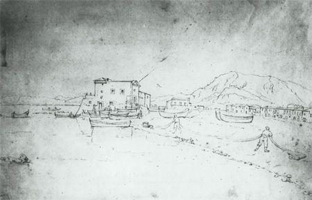 Christoph Heinrich Kniep, Reede von Palermo