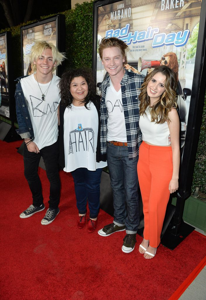 """BAD HAIR DAY - Laura Marano and Leigh-Allyn Baker, stars of the Disney Channel Original Movie """"Bad Hair Day,"""" celebrate the movie's upcoming premiere at a screening event on Tuesday, February 10 at the Walt Disney Studios."""