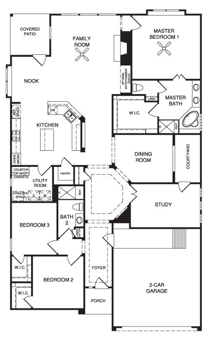 Floor Plan on tiny house village in texas