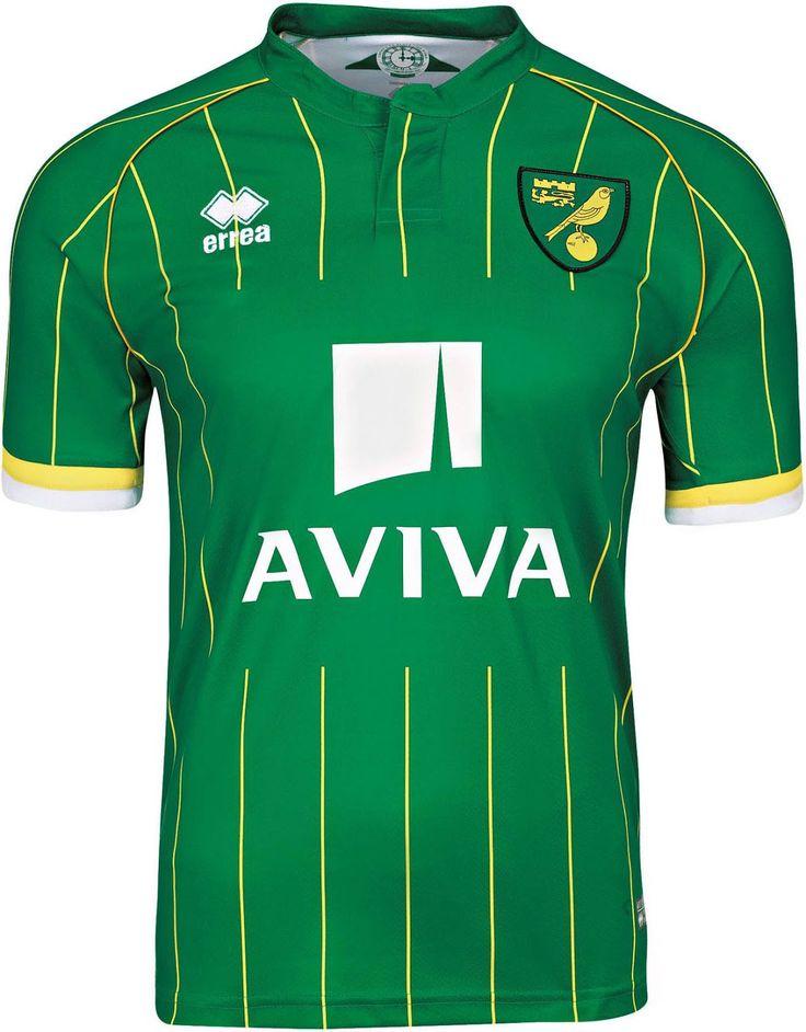 Norwich City FC (England) - 2015/2016 Erreà Away Shirt