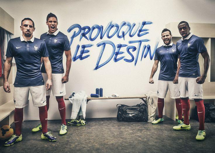 Футбольная форма. Сборная Франции. 2014