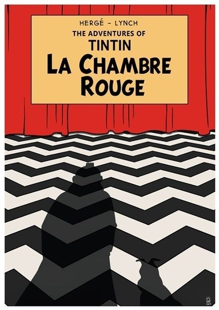 Tintin in La Chambre rouge.