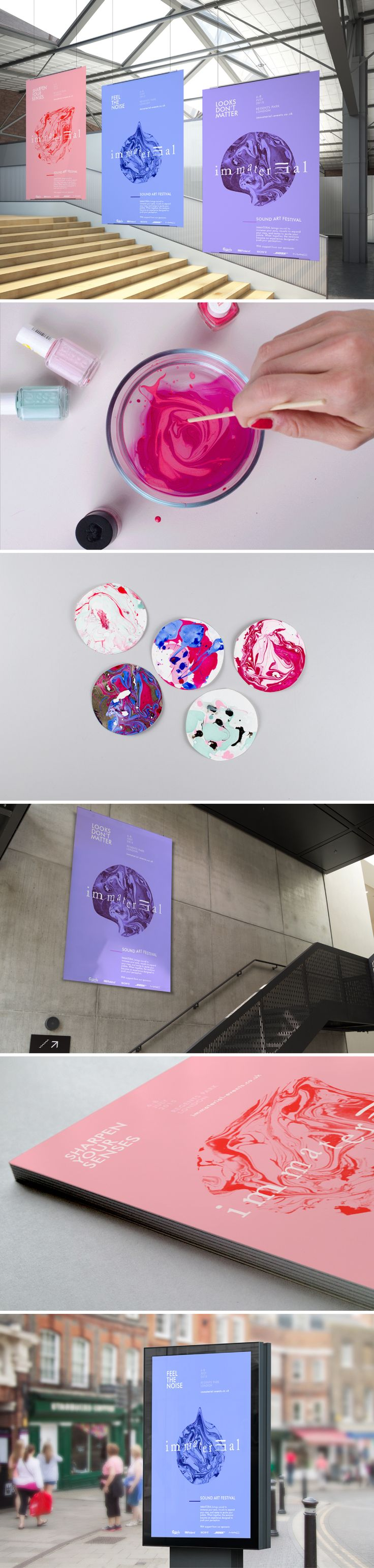 Graphic Design - Institutional identity inspiration - Exposition