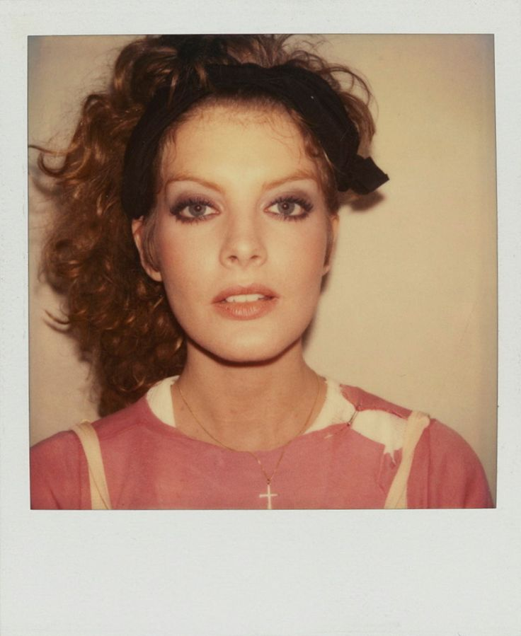 Tony Viramontes- Rene Russo Polaroid Photograph, 1983