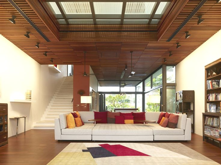 Contemporary Homes Singapore Adelto_03 · Wooden CeilingsWood ...