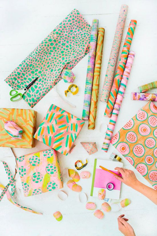 gift wrapping ideas | designlovefest