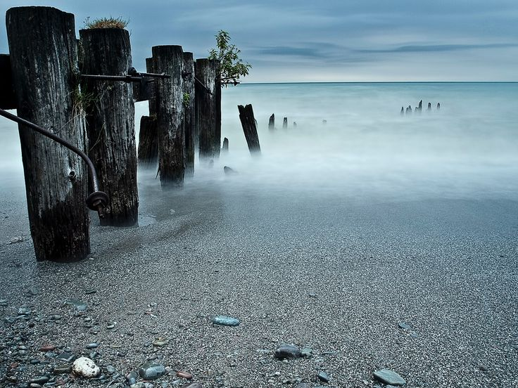 A photo taken during one of our photography workshops along the shores of Lake Ontario