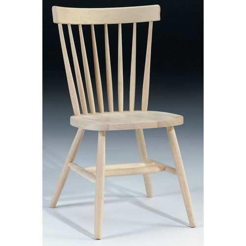 Copenhagen Unfinished Wood Chair
