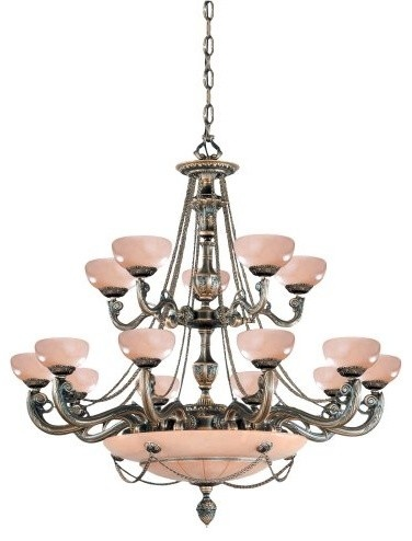 Check out the crystorama natural alabaster 20 light ornate cast brass chandelier in french white