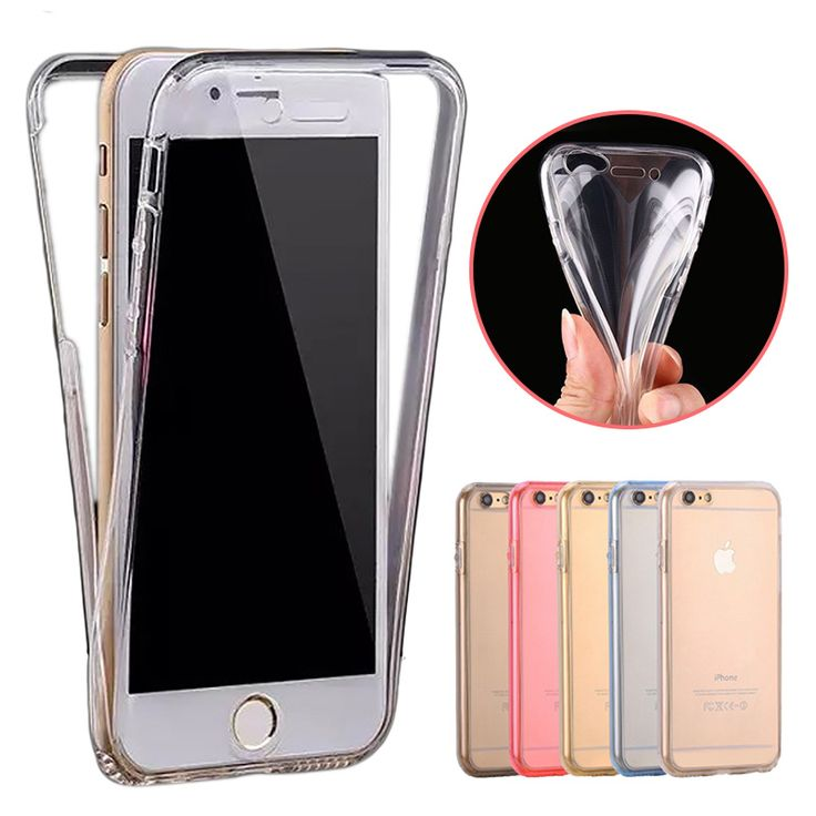 HC19 Silicone Flexible Soft Cover Case For Apple iPhone 6 6S/6 S Plus Front Back Full Protect Phone Case Coque For iPhone 6s TPU