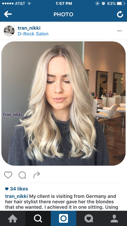 Pale blonde