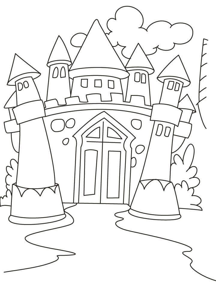 Castle Coloring Pages Coloring Rocks Malvorlage Prinzessin Mandala Malvorlagen Malvorlagen Fur Kinder
