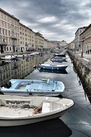 Trieste, Canal Grande #trieste #fvg #discoverTrieste