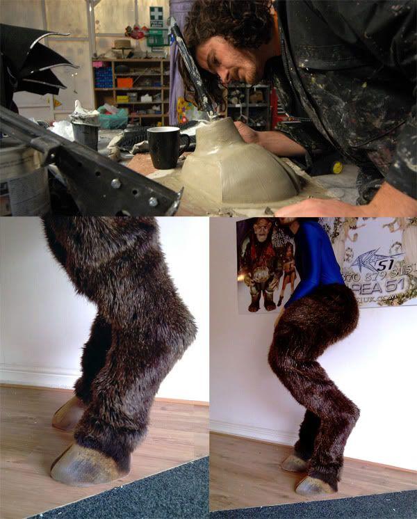 Digileg Fawn Hoofed Legs