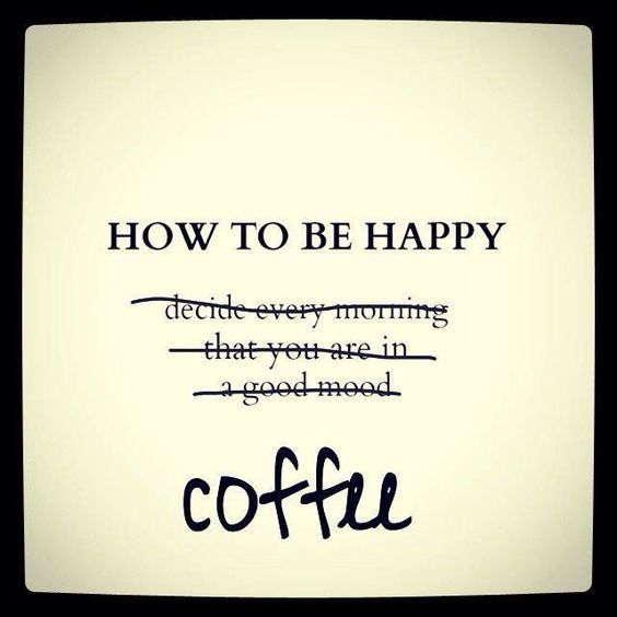 LOL...definitely true sometimes, often on Mondays, right? Happy #MondayCoffeeSmiles