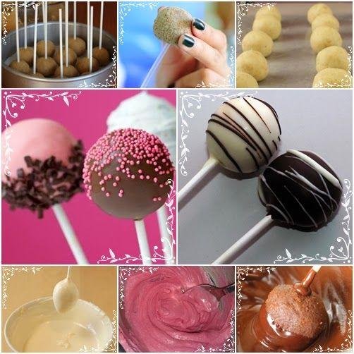 Le ricette di Valentina & Bimby: CAKE POPS E TARTUFI AL CIOCCOLATO