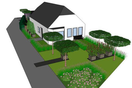 """#Tuintrends 2013 #Tuinontwerp in #3D Een driedimensionaal #tuinontwerp begint nu echt bij het grote publiek door te breken. De zogenaamde 'platte tekening' heeft het lang vol gehouden maar voldoet anno 2013 niet meer. """"Voor velen is een platte tekening moeilijk te begrijpen omdat er geen hoogte en diepte zichtbaar is. Meer informatie over #tuintrends of #tuinontwerp: http://www.wonenwonen.nl/tuinontwerp/tuintrends-2013/5875"""