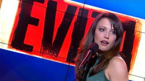 """Caroline Bowman performs """"Buenos Aires"""" on Good Day L.A. (FOX 11 News) on Tuesday November 5th!  She Was SPECTACULAR!  #Evita #Hollywood #Pantages #Broadway #CarolineBowman"""