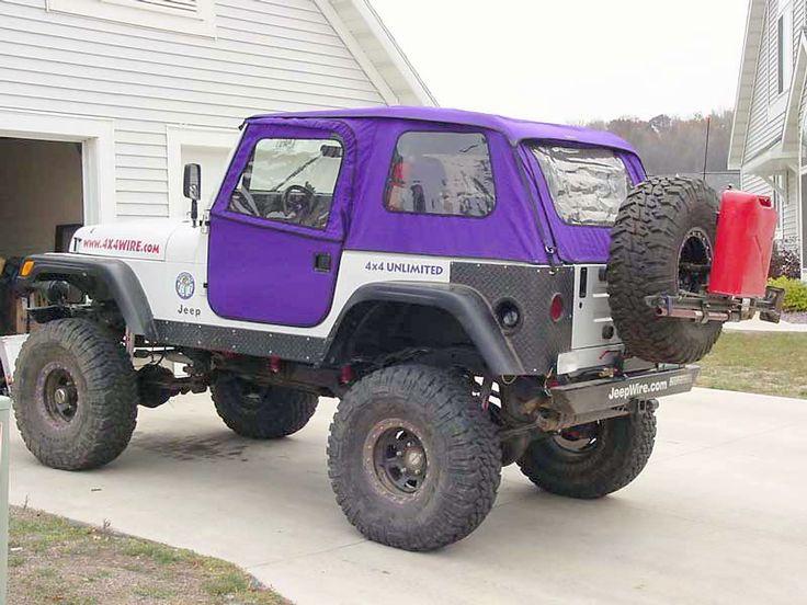 Yj Windbreakerr Rockgear 3 This Purple Jeep Soft Tops Yj