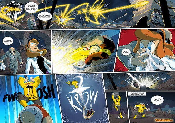 Season2 - Issue11 #canman #webcomic by #DARKDOG