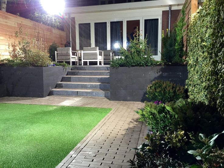 Robs grote tuinverbouwing tuininspiraties pinterest - Eigentijds pergola design ...