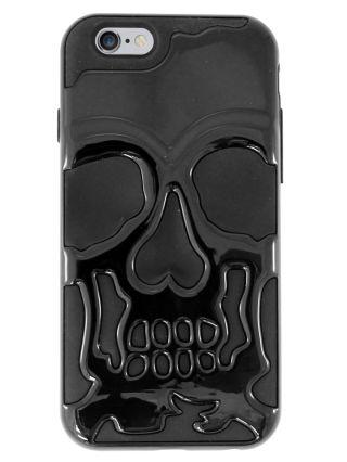 Metallic Skull iPhone 6 Case (Black)
