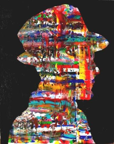 """Saatchi Art Artist Paolo Cervino; Painting, """"About poetry-78- The painter"""" #art"""
