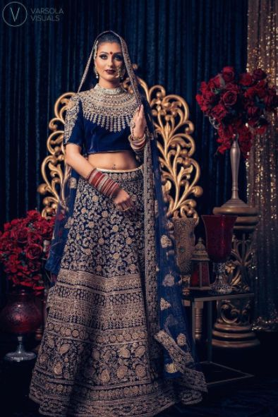 """""""Fashion is what you buy and style is what you do with it"""" Here's another stunning image captured @pinkorchidstudio latest photoshoot! ✨The gorgeous model @Kirtisingh_ is dressed in a breathtaking #Wellgroomedinc designed lehenga for the shoot! We had the pleasure of working with some of the industries finest on this shoot! ✨ ___________________________  Please email sales@wellgroomed.ca for details!"""
