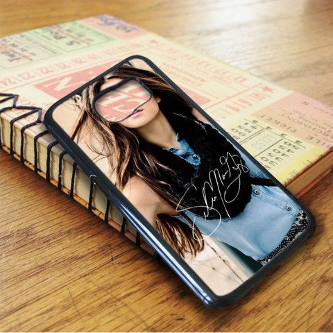 Selena Gomez Singer Beautiful Signature Samsung Galaxy S7 Case
