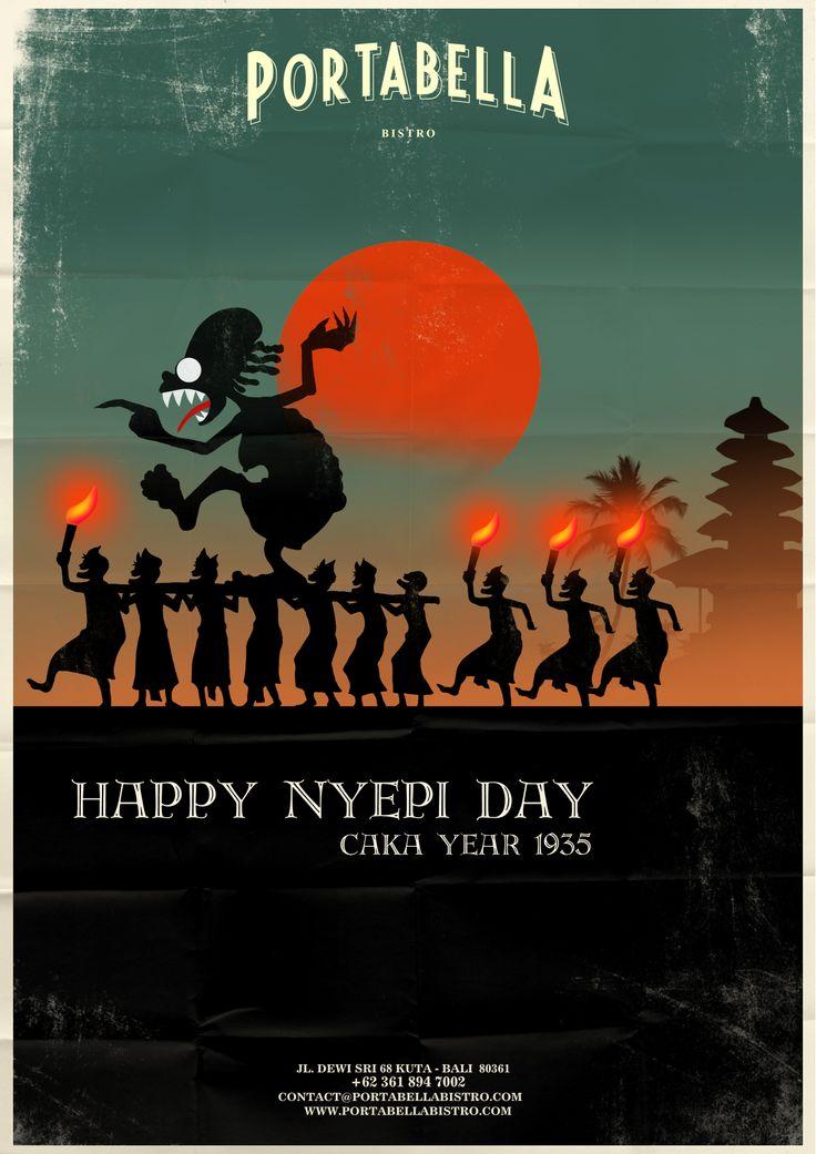 Nyepi day - by Gus Dark