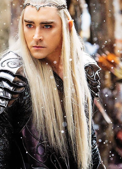I just... he's just... SIGH. I can't wait for the next movie D:   THRANDUIL WHY ARE YOU SOOOOO PRREEETTTYYYYYYYYYY AND FICTIONAL?!