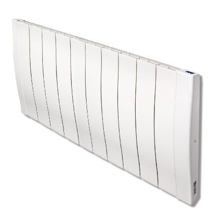 Haverland Designer RC Wave RC11W 1700 Watt Slimline Energy Efficient Electric  Radiators Wall Mounted With Timer