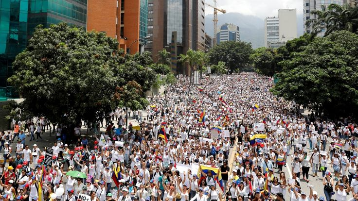 Women take to Caracas streets as crisis deepens   Venezuela News   Al Jazeera