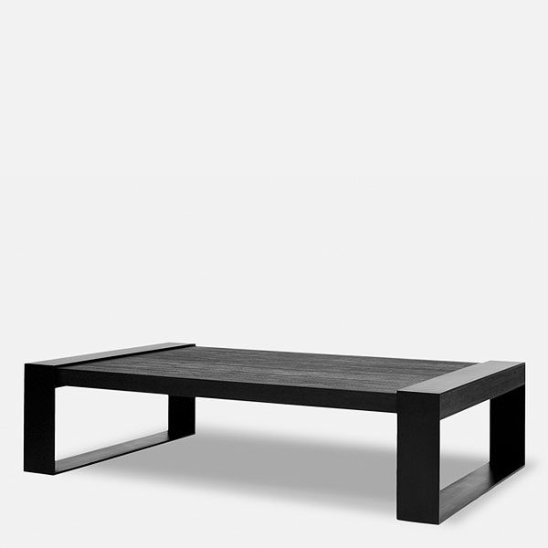 Christian Liaigre, Inc. Cathare Coffee Table 59x39x16 - 25+ Best Ideas About Black Coffee Tables On Pinterest Interior