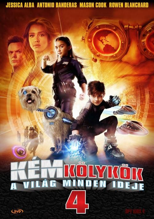 Watch Spy Kids: All the Time in the World 2011 Full Movie Online Free