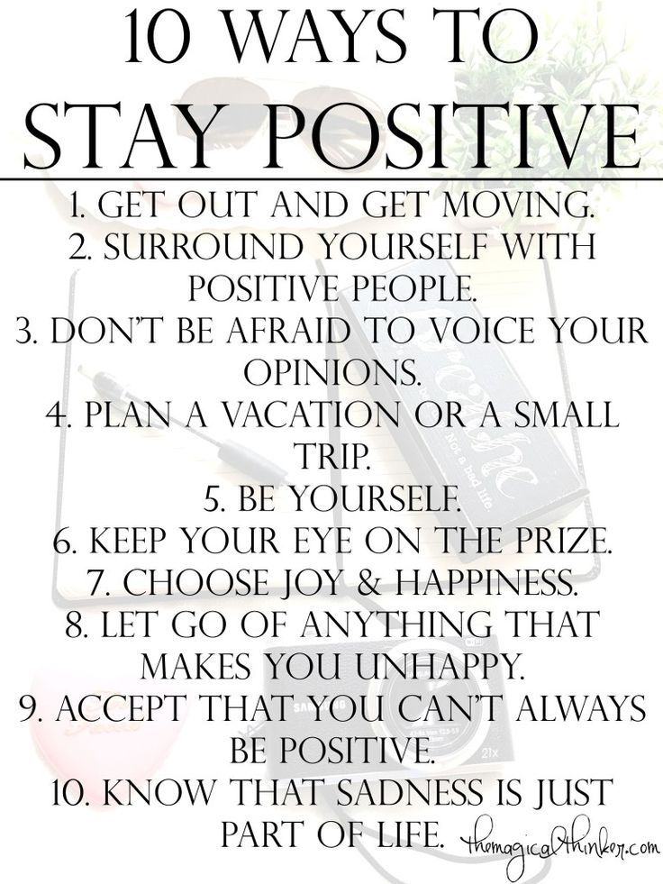 10 Ways To Stay Positive  Positivity, Staying Positive -9515