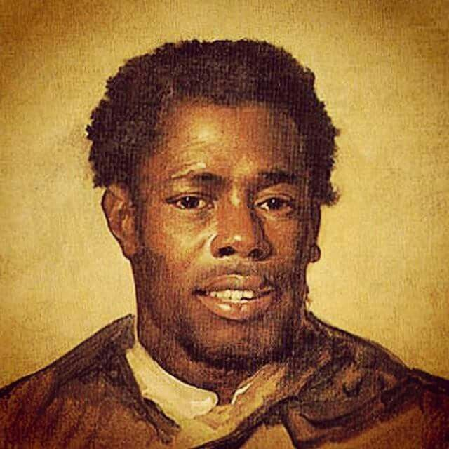NAT TURNER FREEDOM FIGHTER REBELLION LEADER IN 1800 z's d uring Slavery.  Read about  him.