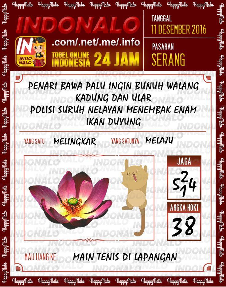 Lotre Kop 4D Togel Wap Online Live Draw 4D Indonalo Serang 11 Desember 2016