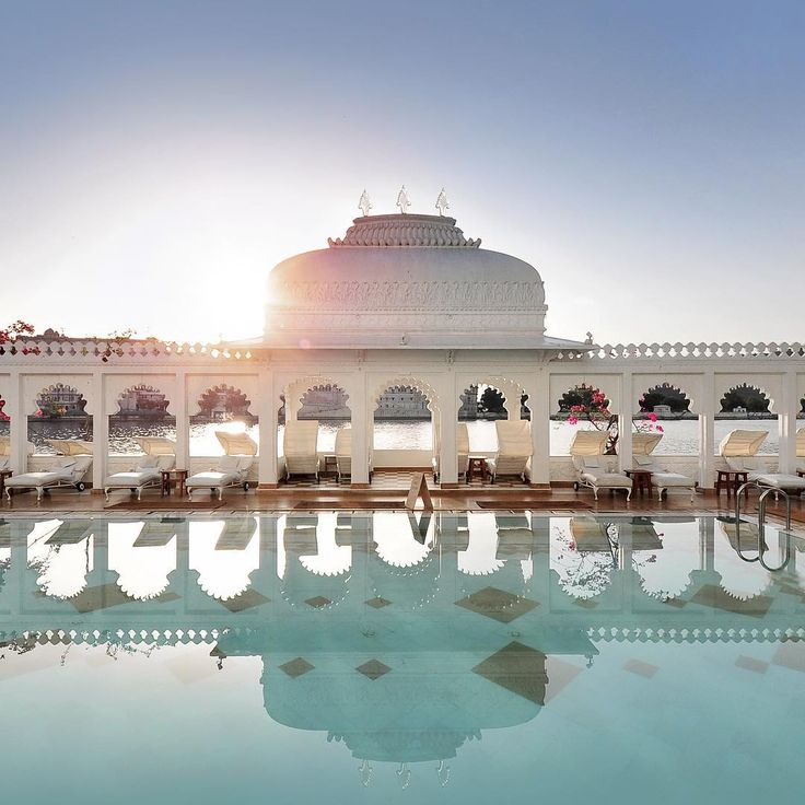 Taj Lake Palace is one of those places that offer a truly authentic experience—no other hotel in the area offers chambers that once had hosted the rulers of Udaipur. It's a one in a lifetime opportunity to stay at an authentic Maharani palace—in the middle of a lake.