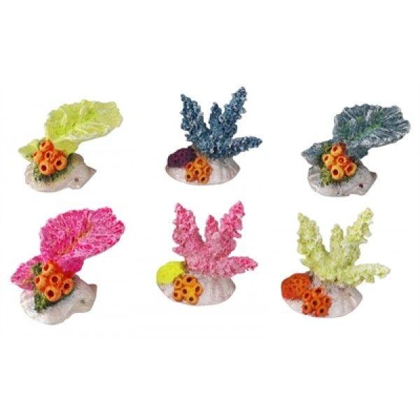 Natuurgetrouw weergegeven decoratie met veel details van Polyrin (kunsthars). Absoluut gifvrij. Voor zoet- en zeewateraquariums. Heeft geen invloed op het biologisch evenwicht. Kleurveranderingen zijn na enige tijd niet uit te sluiten.